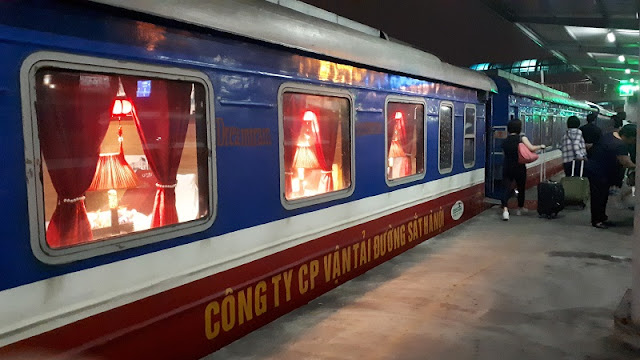 Share experiences about Vietnam train from Hanoi to Sapa