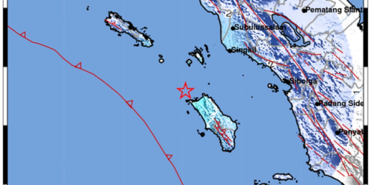 Warga Sempat Panik Saat Gempa M5.1 Guncang Nias Utara