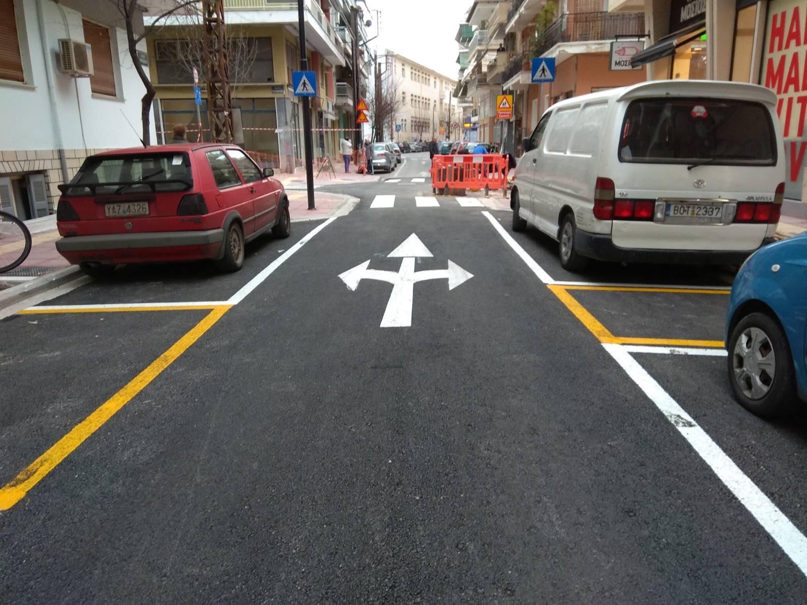 Ολοκληρώθηκε η νέα οδός Χρυσοχόου - Συνεχίζονται τα έργα του Δήμου Λαρισαίων στον Άγιο Κωνσταντίνο