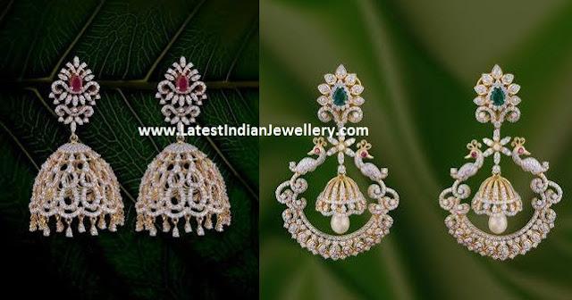 Diamond Earrings from PSS