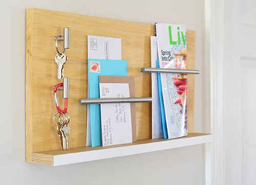 More DIY Mail Organizers To Control Paper Clutter | DIY ...