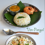 Ven Pongal Recipe | Khara Pongal | Ghee Pongal | Pongal Special Recipes
