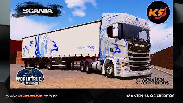 SCANIA S730 - HERÓIS DA ESTRADA EDITION