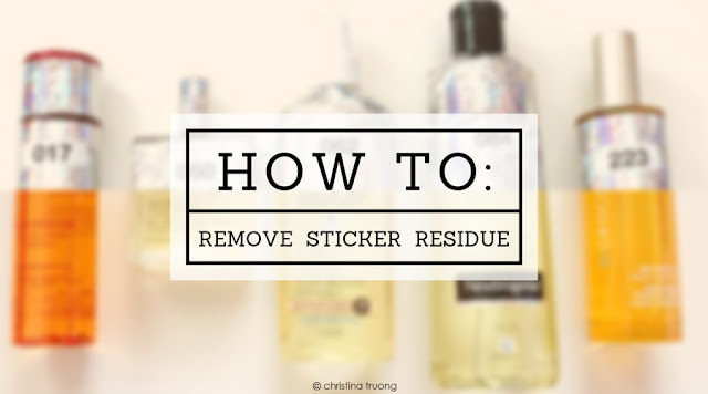 How To Remove Sticker Residue. The cleanest way to effectively remove sticker residue. Removing sticky wrapping packaging from Elle Canada Beauty Grand Prix products