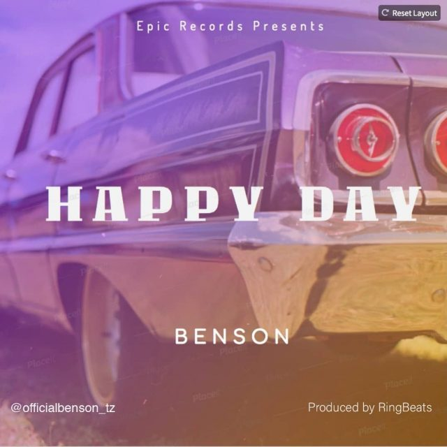 DOWNLOAD: Benson - Happy Day || Mp3 AUDIO SONG