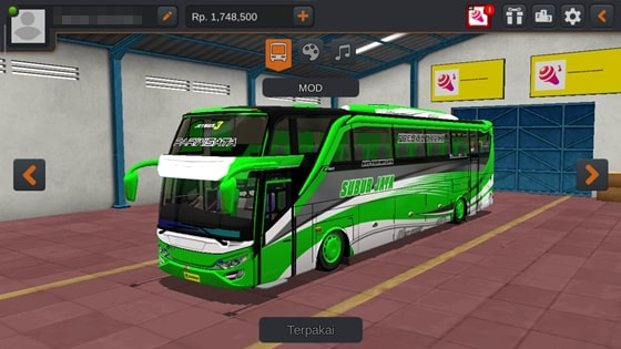 Livery JB3 SHD ZTOM Subur Jaya Green Arrow