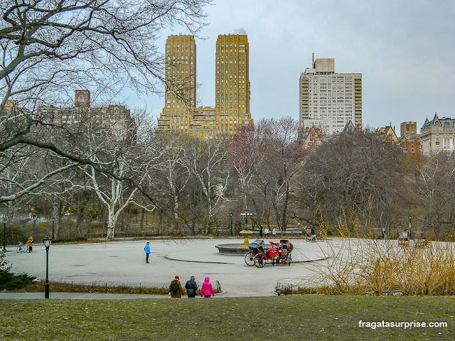 Fonte de Cherry Hill, Central Park, Nova York