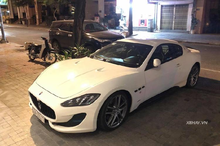 'Đinh ba Ý' - Maserati GranTurismo Sport hơn 12 tỷ ở Sài Gòn
