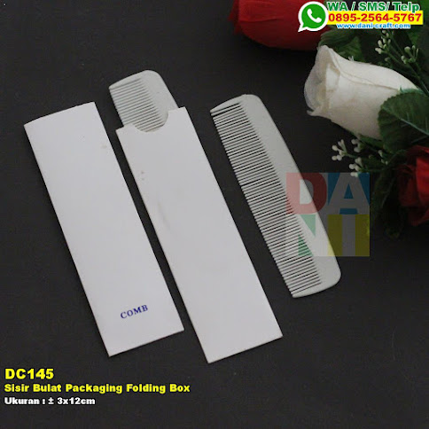 Sisir Bulat Packaging Folding Box