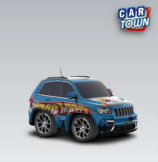 Jeep Grand Cherokee SRT8 2012 Hot Wheels by Vincentius