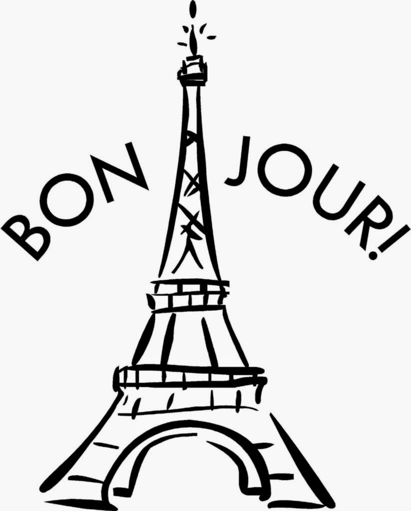 Color Your Own Coloring Page Eiffel Tower