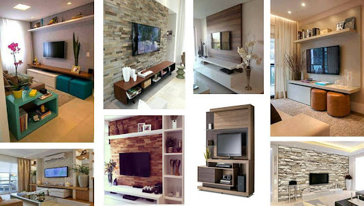 Architecture & Design: Nice decorations for tv areas