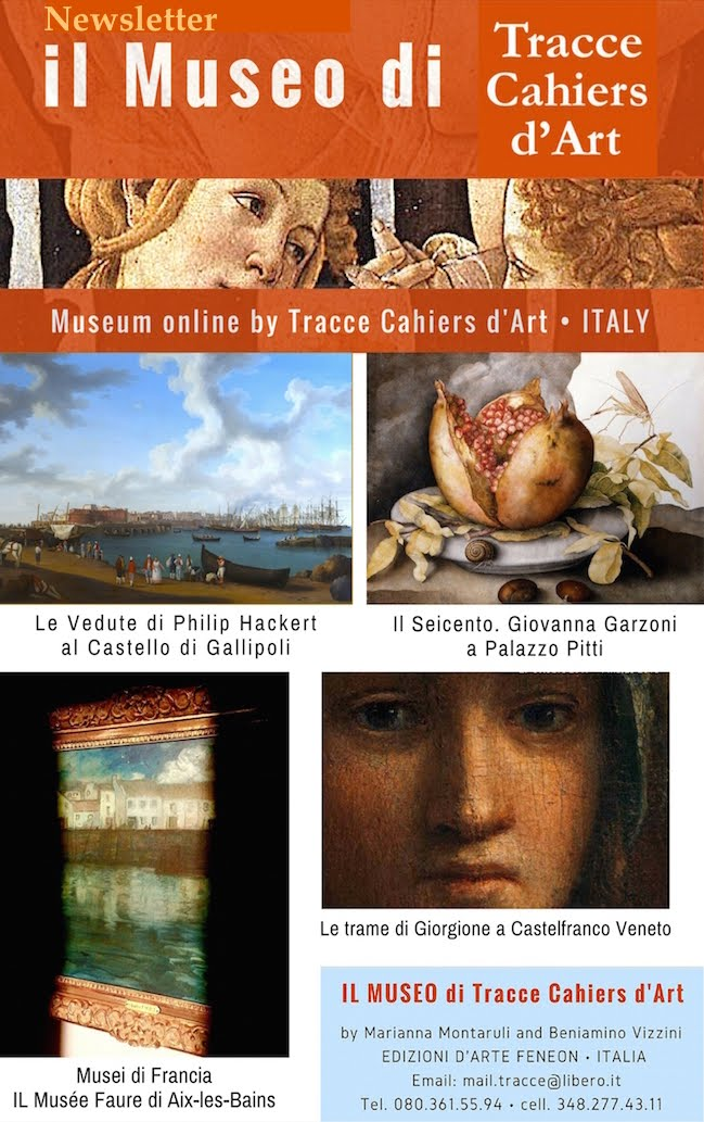 NEWSLETTER<br>del MUSEO ONLINE DI TRACCE CAHIERS D&#39;ART: