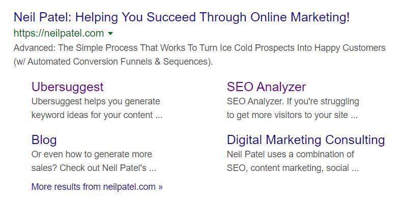 Neil Patel Meta Description