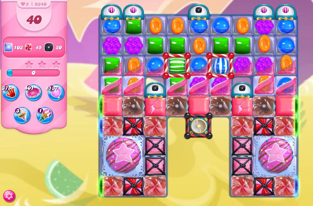 Candy Crush Saga level 9340