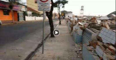 video no facebook sobre demolição do predio da brooklyn para construção do novo  shopping