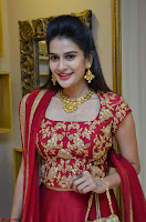 Jenny Honey in Stunning Dark Red Anarkali Dress at Splurge   Divalicious curtain raiser ~ Exclusive Celebrities Galleries 019.JPG