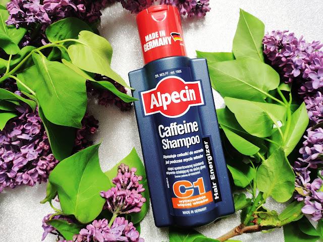 Alpecin C1- Szampon z kofeiną stymuluje cebulki do wzrostu już podczas mycia