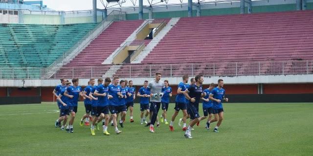 Latihan Timnas Islandia Jelang Laga Ujicoba Melawan Indonesia Selection