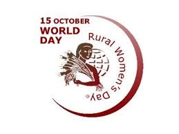 International Day of Rural Women: October 15