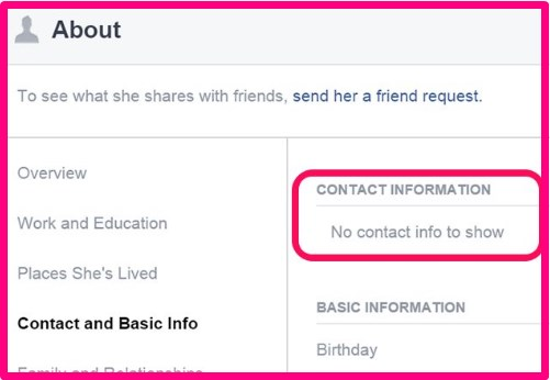 how to find facebook email address of friends