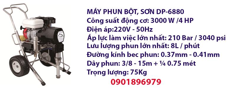 MÁY PHUN BỘT, SƠN DP-6880