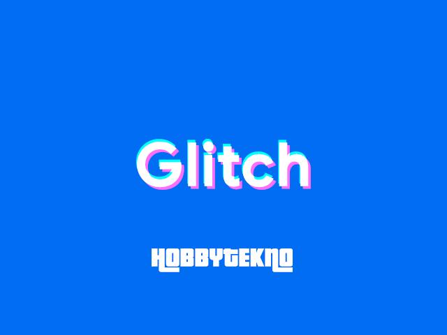 Cara Membuat Efek Glitch Aktif Menggunakan CSS