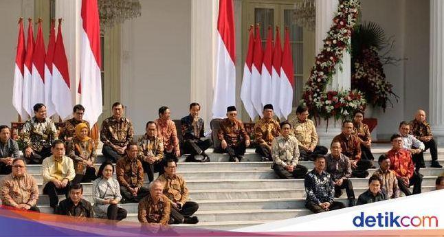 Daftar Lengkap Nama Menteri Kabinet Jokowi-Ma'ruf