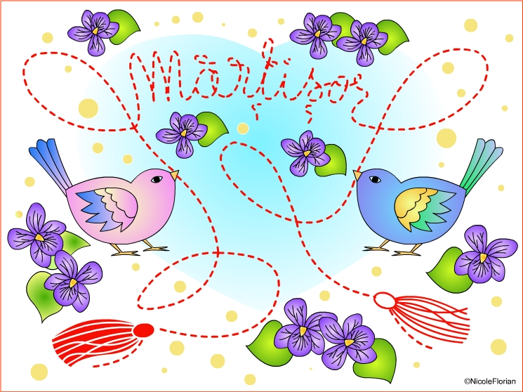 Nicole\'s Free Coloring Pages