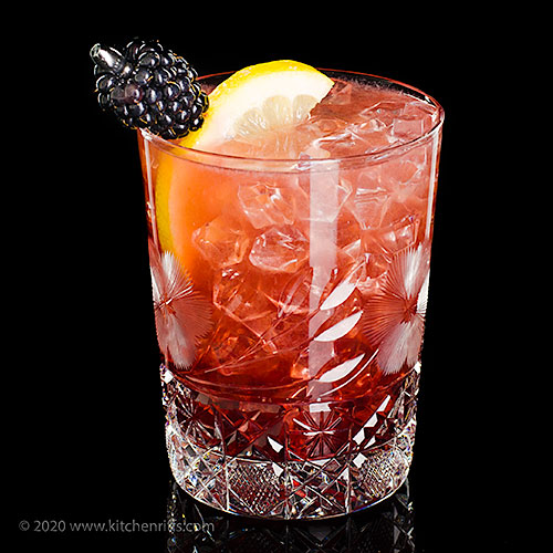 The Bramble Cocktail