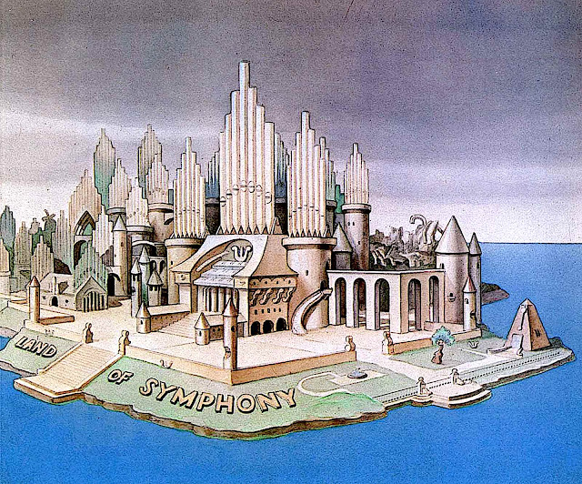 Disney Land Of Symphony animation background