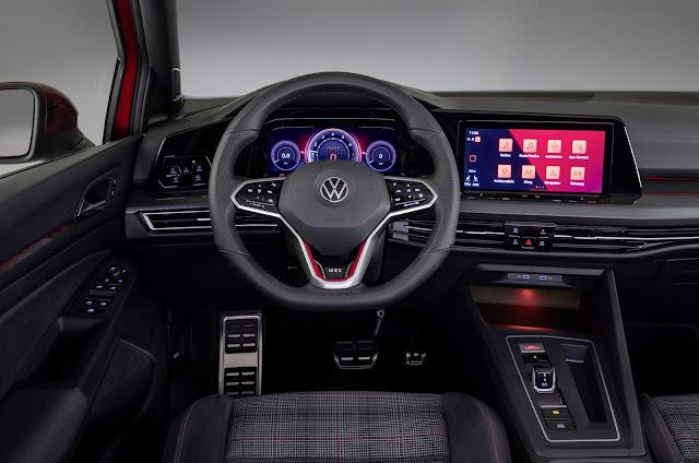 Novo VW Golf GTI Mk8 2021