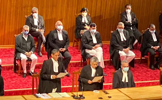 Supreme Court: 9 new judges including 3 women took oath