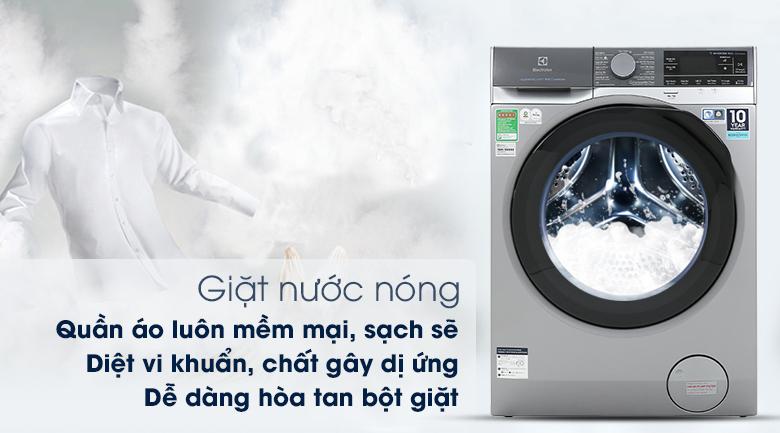 Máy giặt Electrolux EWF1141SESA - Giặt nước nóng