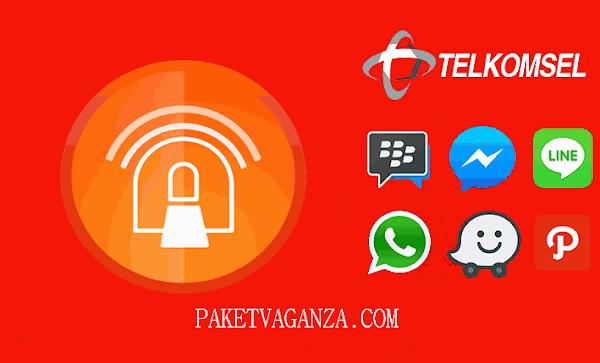 Cara Setting Anonytun Kuota Chat dan Sosial Media Telkomsel Terbaru 2018