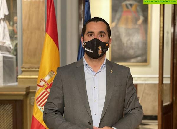 Pérez Sicilia pide que las ayudas del Gobierno de España lleguen a todos los autónomos y pymes de La Palma