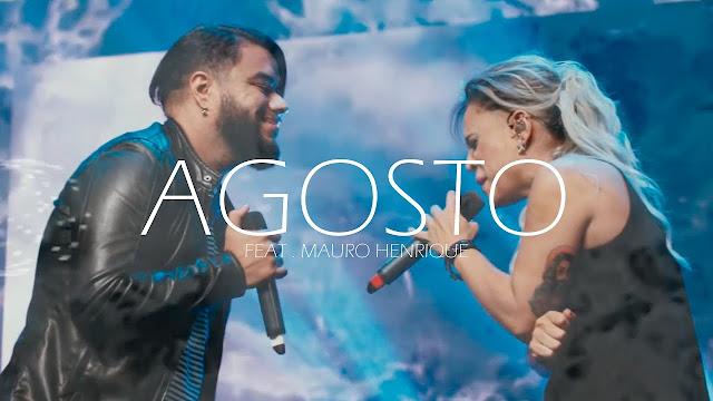 """""""Agosto"""": Daniela Araújo lança música com Mauro Henrique"""
