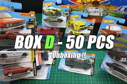 Hot Wheels 2019 D Case Unboxing Short Card - Hot Wheels Indonesia