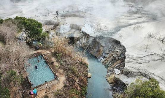 View Keindahan Alam Danau Suoh Lampung, Danau Yang Unik di Lampung