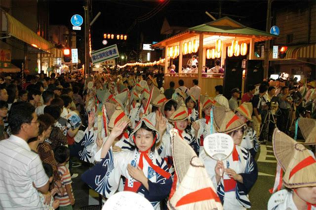 Bicchu Takahashi Matsuyama Dance, Okayama Pref.