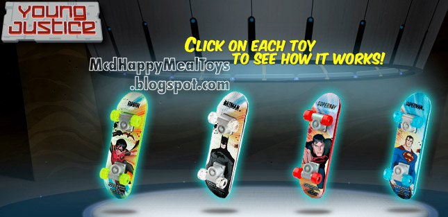 MCDONALD'S HAPPY MEAL TOY IN-STORE DISPLAY Spy Gear ... |Victorious Happy Meal Toy