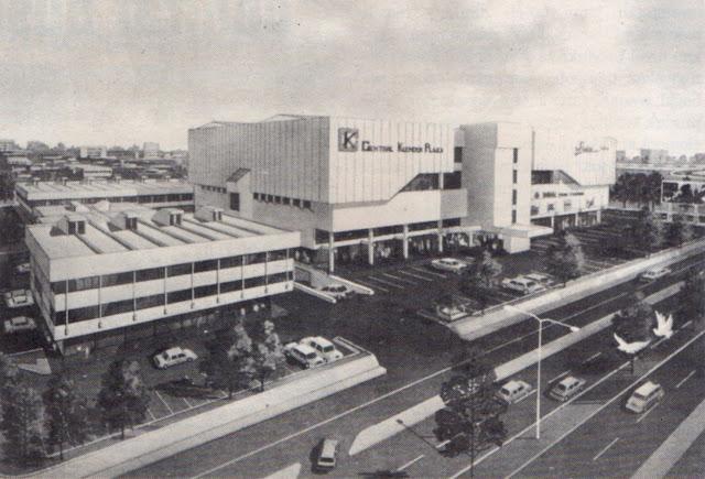 Render Central Klender Plaza, 1990