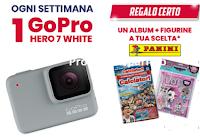 Logo ''Aquafresh famiglie sorridenti'': album L.O.L o calciatori come premio certo e vinci GoPro Hero
