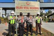 Jamin Keamanan Pada Objek Vital Nasional, Ditpamobvit Polda Banten Lakukan Patroli di PT Cemindo Gemilang