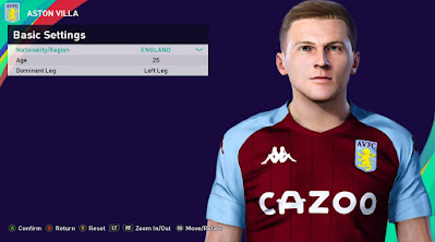 PES 2021 Faces Matt Target by Rachmad ABs