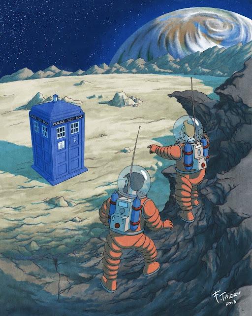 Meme de humor de Tintín y Doctor Who