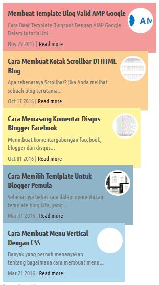 Style Widget Artikel Terbaru 3