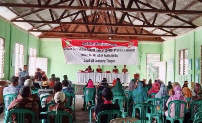 Anggota DPRD Lampung Asih Fatwanita Ajak Masyarakat Lebih Disiplin Prokes Covid