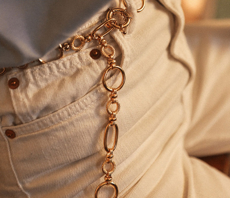 Style Inspiration | Required: The Chain Belt