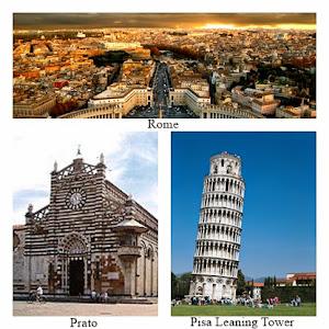ROME – PISA – PRATO